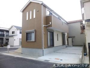 【奈良市古市町第10 新築一戸建て 限定3区画!】外観写真