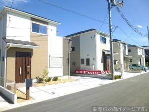 【奈良市第2三条大路 新築一戸建て 限定2区画!】外観写真