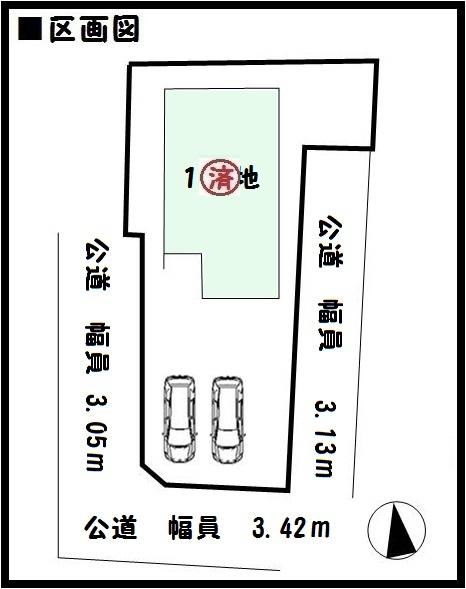 【川西町結崎18-1期 新築一戸建て 】区画図面