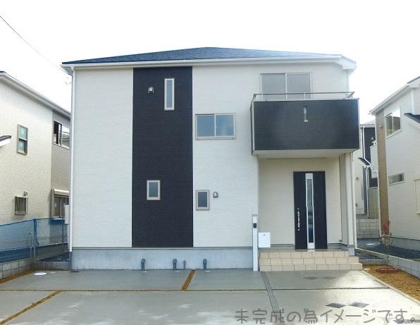 【生駒市中菜畑第1 新築一戸建て 限定2区画!】外観写真