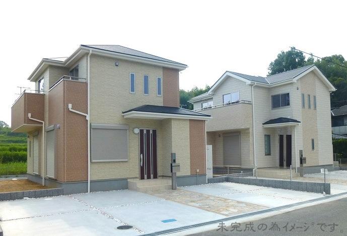 【大和高田市曽大根2期 新築一戸建て 残り1区画!】外観写真