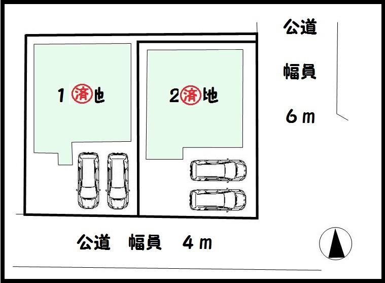 【桜井市谷5期 新築一戸建て 】区画図面