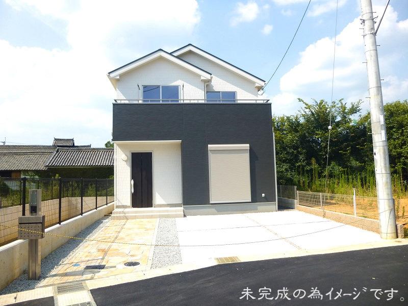 【奈良市鳥見町 新築一戸建て 残り1区画!】外観写真