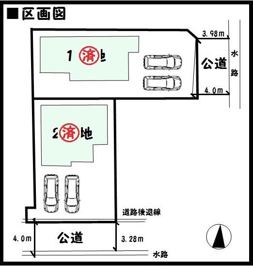 【天理市平等坊町19-1期 新築一戸建て 】区画図面