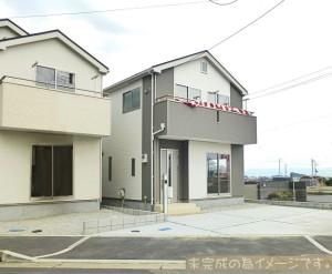 【大和高田市曽大根第6 新築一戸建て 残り2区画!】外観写真