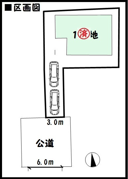 【天理市二階堂上ノ庄町第7 新築一戸建て 】区画図面