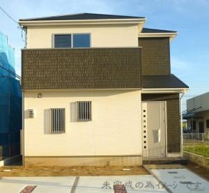 【奈良市第6二名 新築一戸建て 限定1区画!】外観写真