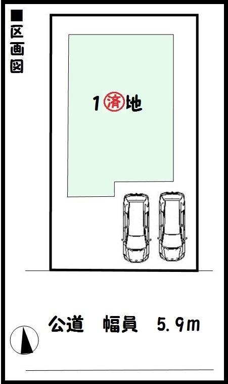 【田原本町八尾第1 新築一戸建て 】区画図面