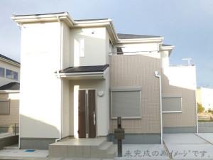 【奈良市秋篠町 新築一戸建て 限定1区画!】外観写真