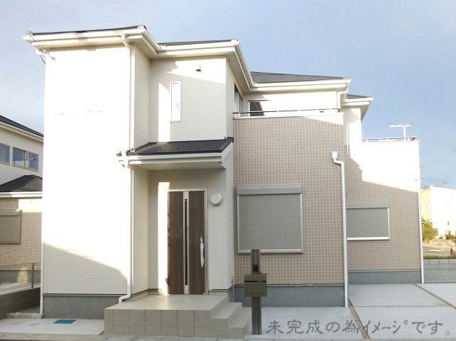 【奈良市秋篠町 新築一戸建て】外観写真