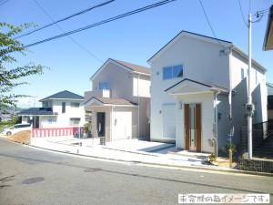 【上牧町緑ヶ丘18-1期 新築一戸建て 残り3区画!】外観写真