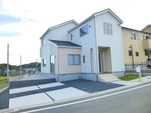 【上牧町緑ヶ丘第1 新築一戸建て 残り1区画!】外観写真