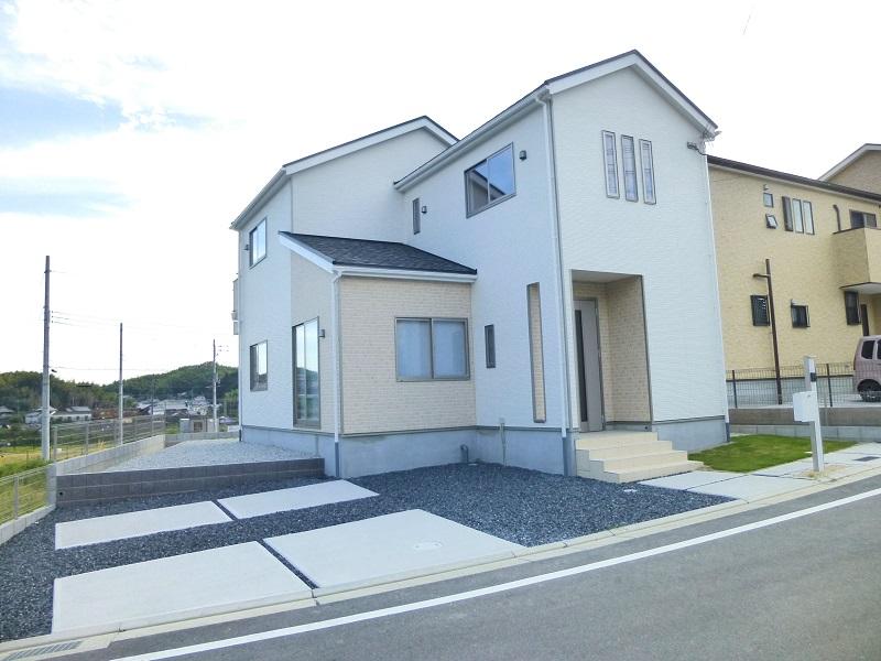 【上牧町緑ヶ丘第1 新築一戸建て 全3区画!】外観写真
