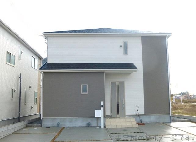 【奈良市平松第7 新築一戸建て 限定2区画!】外観写真