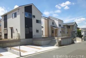 【奈良市第8二名 新築一戸建て 全3区画!】外観写真