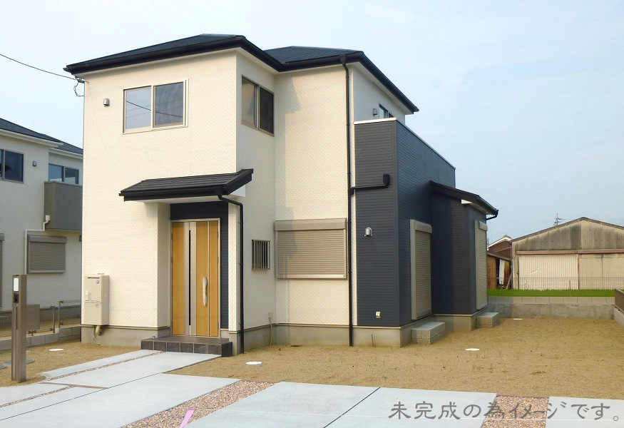 【上牧町第4桜ヶ丘 新築一戸建て 限定1区画!】外観写真