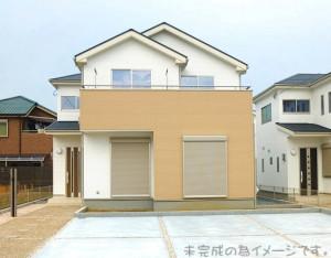 【奈良市平松3丁目2期 新築一戸建て 全3区画!】外観写真