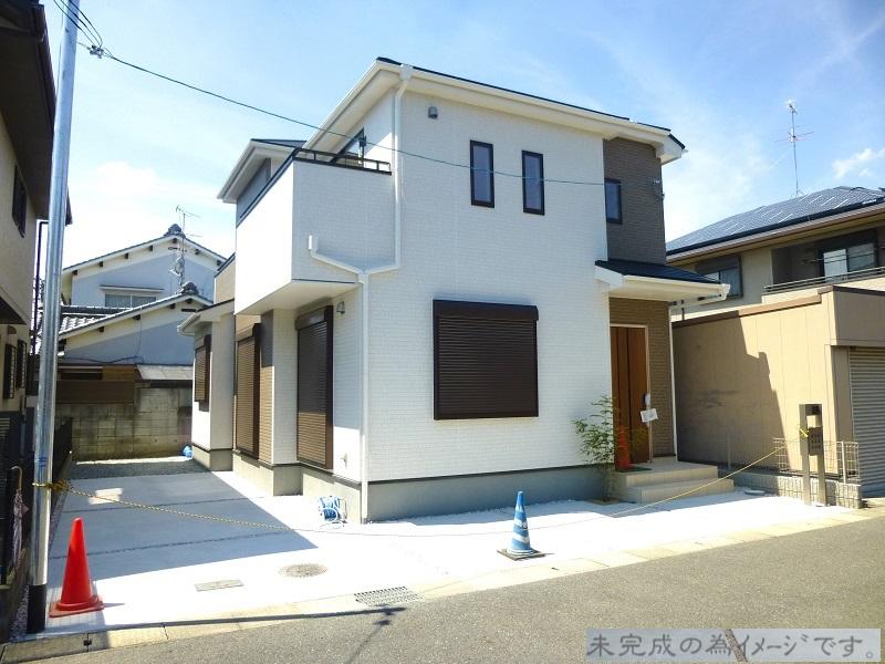【奈良市平松5丁目4期 新築一戸建て 限定2区画!】外観写真
