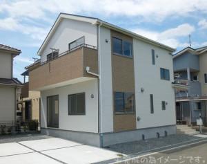 【天理市柳本町第5 新築一戸建て 】外観写真