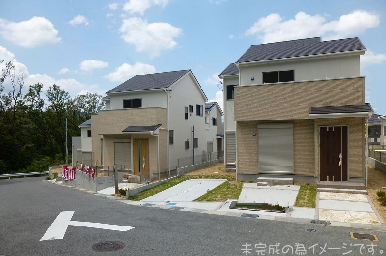 【奈良市第7鳥見町 新築一戸建て 全3区画!】外観写真