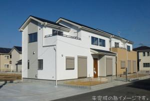 【奈良市平松3丁目3期 新築一戸建て 全4区画!】外観写真