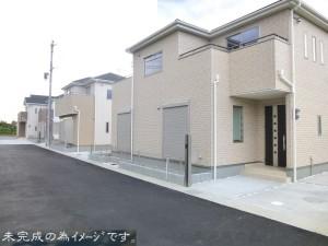 【奈良市法蓮町8期 新築一戸建て 限定3区画!】外観写真
