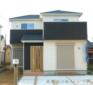 【生駒市第4小瀬町 新築一戸建て 限定2区画!】外観写真