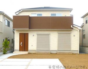 【奈良市第2六条町 新築一戸建て 限定1区画!】外観写真