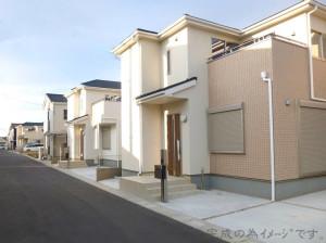 【奈良市法蓮町9期 新築一戸建て 全3区画!】外観写真