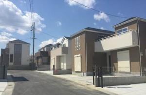 【大和高田市市場3期 新築一戸建て 限定1区画!】外観写真