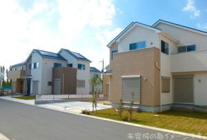 【生駒市第5鹿ノ台西 新築一戸建て 限定2区画!】外観写真