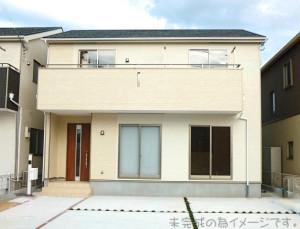【奈良市平松第9 新築一戸建て 限定1区画!】外観写真