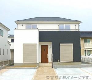 【奈良市若葉台1期 新築一戸建て 限定2区画!】外観写真