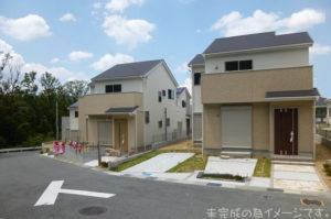 【生駒市第6新生駒台 新築一戸建て 限定2区画!】外観写真