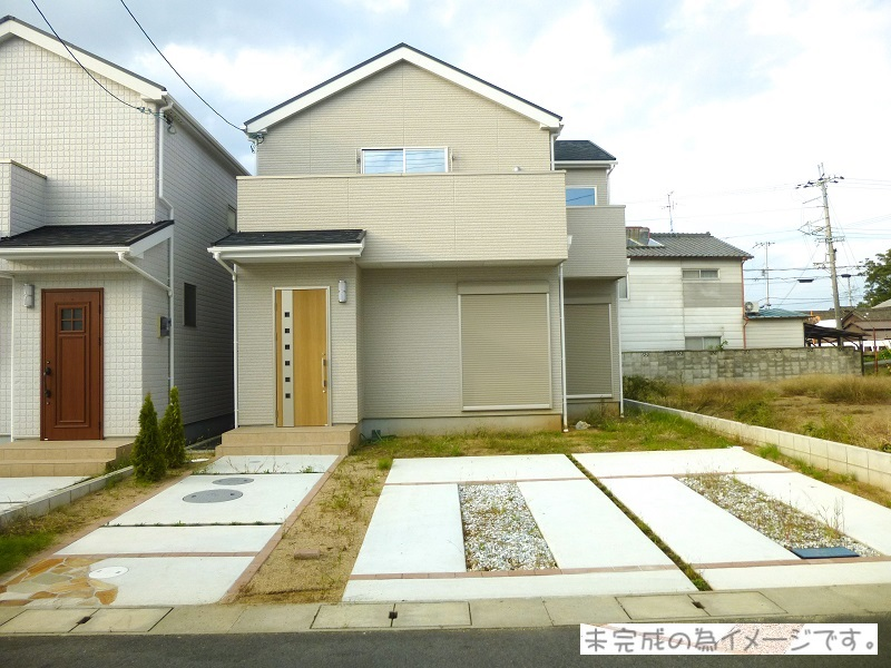 【生駒市松美台19-1期 新築一戸建て 限定1区画!】外観写真