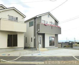 【平群町三里第2 新築一戸建て 残り5区画!】外観写真