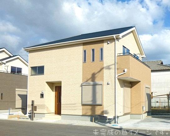 【桜井市粟殿6期 新築一戸建て 限定2区画!】外観写真