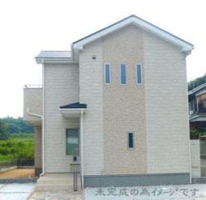 【奈良市あやめ池南5期 新築一戸建て 全3区画!】外観写真