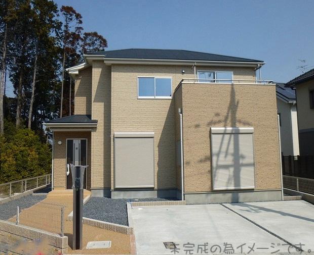 【奈良市千代ヶ丘2期 新築一戸建て 限定1区画!】外観写真