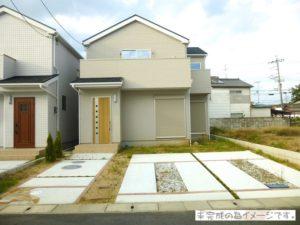 【大和高田市市場20-1期 新築一戸建て 限定1区画!】外観写真