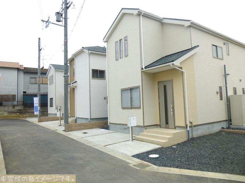 【奈良市八条町第1-2期 新築一戸建て 残り5区画!】外観写真