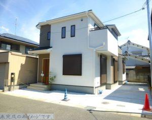 【奈良市法蓮町11期 新築一戸建て 限定1区画!】外観写真