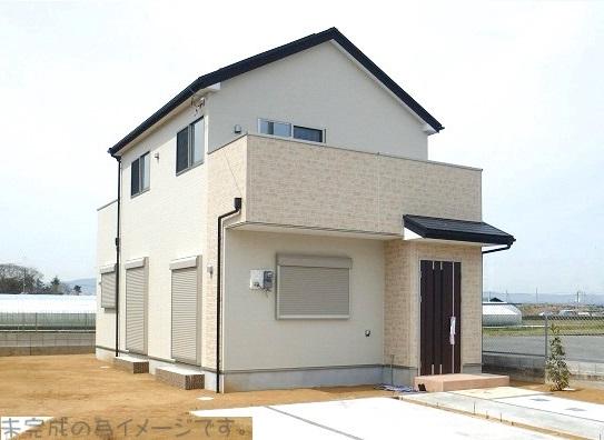 【奈良市第6帝塚山 新築一戸建て 残り1区画!】外観写真