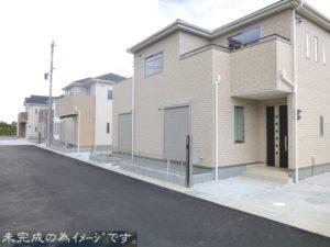 【大和高田市池尻 新築一戸建て 限定2区画!】外観写真